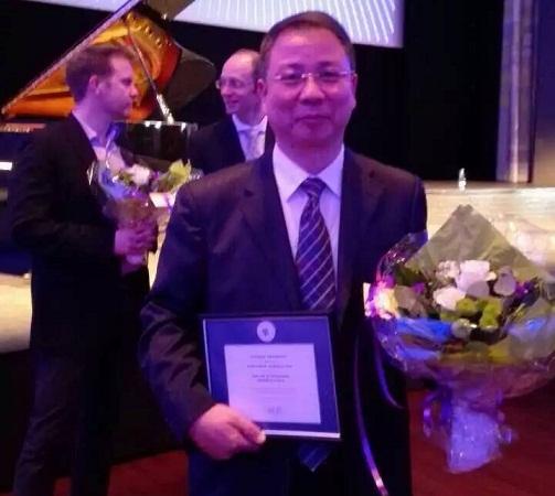 热烈祝贺邱建荣教授获丹麦奥尔堡大学荣誉博士学位